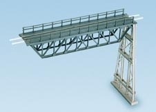 ratio-241-steel-truss-span-with-steel-trestle-plastic-kit-n-gauge