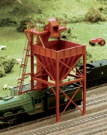 ratio-247-coaling-tower-plastic-kit-n-gauge