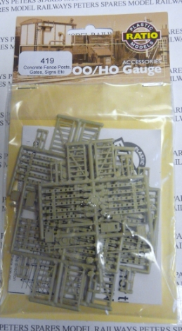 ratio-419-concrete-fence-posts-gates-signs-oo-gauge