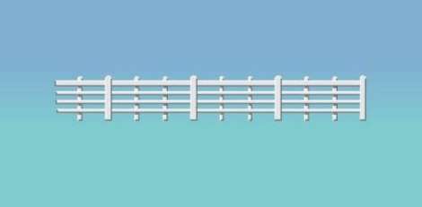ratio-424-lineside-fencing-white-4-bar-oo-gauge
