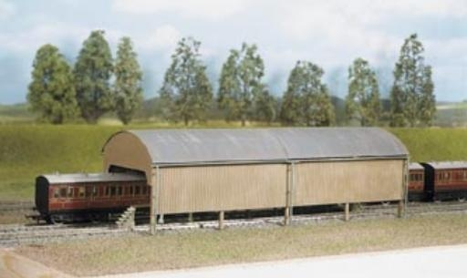 ratio-527-carriage-shed-320mm-x-105mm-plastic-kit-oo-gauge