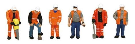 scenecraft-36049-trackside-workers-pk6-figures-oo-gauge