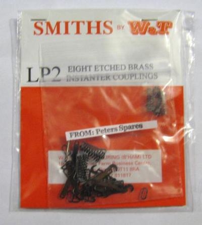 smiths-lp2-couplings-eight-etched-brass-instanter-couplings-kit-form