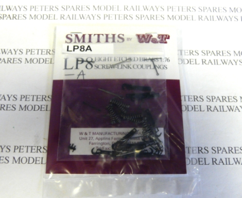 smiths-lp8a-couplings-eight-etched-brass-screw-link-couplings-kit-new-design