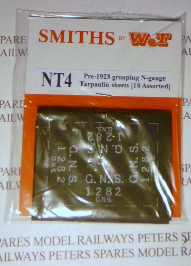 smiths-nt4-pregrouping-1923-tarpaulin-sheets-10-pk-assorted-n-gauge