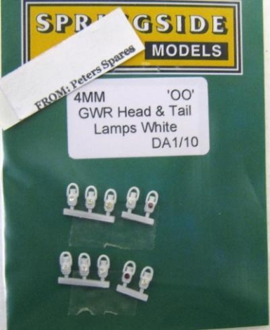 springside-spda110-gwr-head-and-tail-lamps-white-pk10-oo-gauge