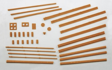 wills-ss46-buildings-pack-a-chimneys-drainpipes-sills-etc-plastic-kit-oo-gauge