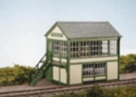 wills-ss48-timber-signal-box-plastic-kit-oo-gauge