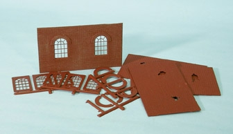 Wills SS71 OO Gauge Round-Top Windows