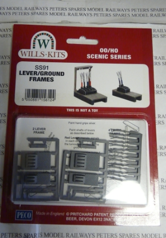 wills-ss91-lever-ground-frame-plastic-kit-oo-gauge