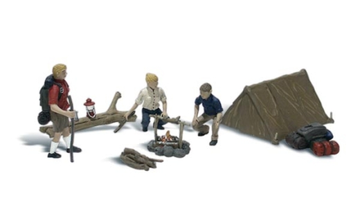 woodland-scenics-a1917-going-camping-figures-set-pk8-ho-gauge