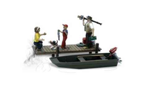 woodland-scenics-a1923-family-fishing-with-boat-dock-figures-set-pk6-ho-gauge
