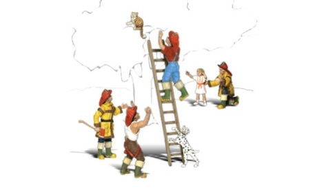 woodland-scenics-a2151-firemen-to-the-rescue-figures-set-pk8-n-gauge
