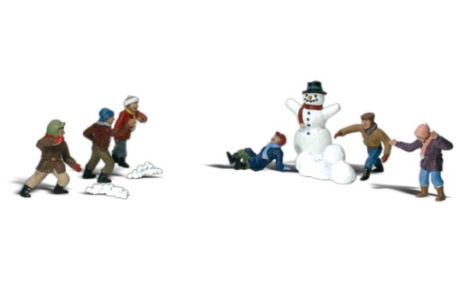 woodland-scenics-a2183-snowball-fight-with-snowman-10pcs-figures-set-n-gauge